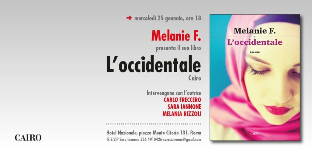 presentazione libro L'Occidentale Melanie Francesca