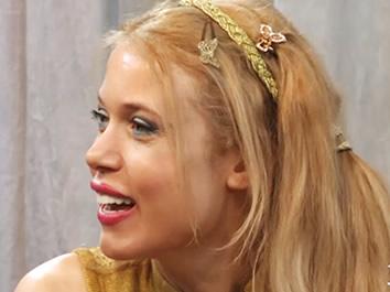 Melanie Francesca ospite del programma televisivo Casa Signorini