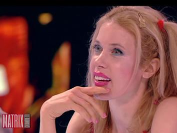 Melanie Francesca ospite dei programmi televisivi Matrix e La Vita in diretta